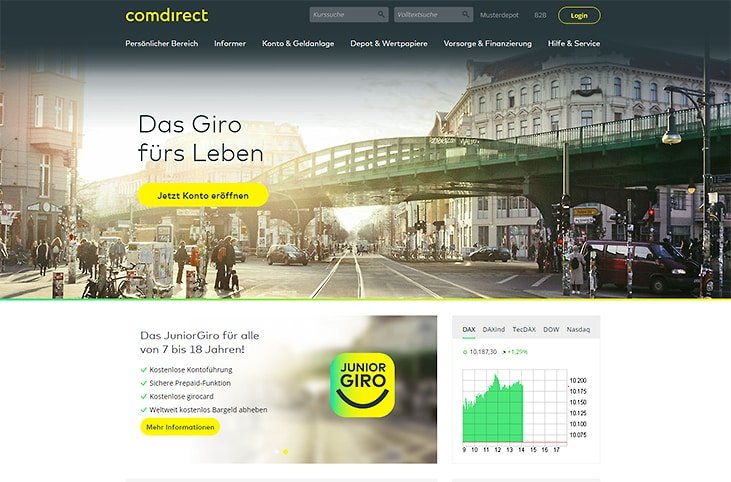 comdirect-neues-Design