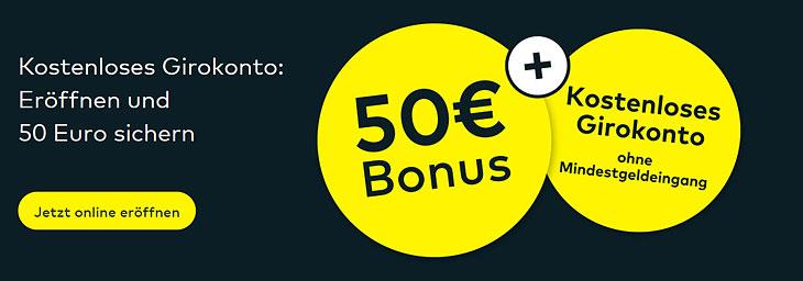 comdirect 50 Euro Bonus (bis 31.03.2020)